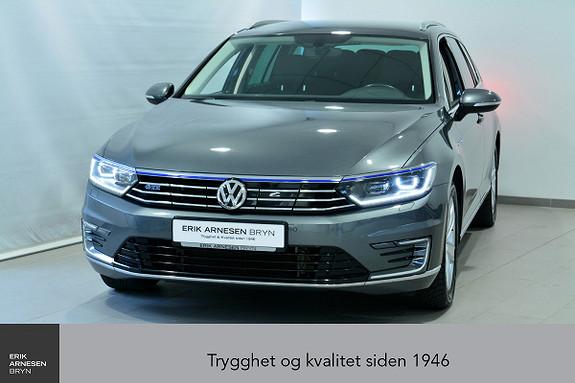 Volkswagen Passat GTE PLUG-IN HYBRID *KAMPANJE*  2017, 45900 km, kr 299900,-