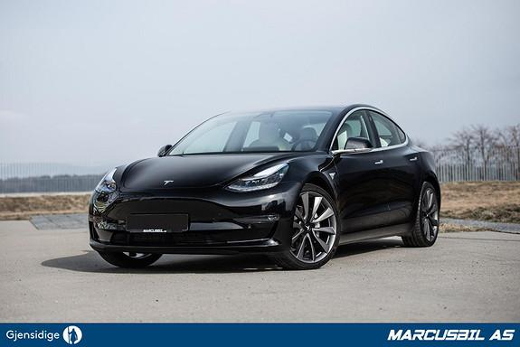 Tesla Model 3 LR AWD AP/HIFI/VINTER/19