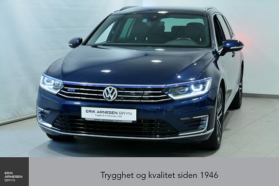 Volkswagen Passat GTE PLUG-IN HYBRID *KAMPANJE*  2017, 60600 km, kr 299900,-