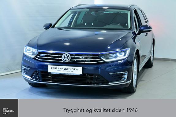 Volkswagen Passat GTE PLUG-IN HYBRID *KAMPANJE*  2017, 53300 km, kr 294900,-