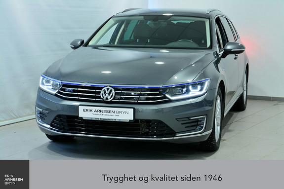 Volkswagen Passat GTE PLUG-IN HYBRID *KAMPANJE*  2017, 31000 km, kr 299900,-