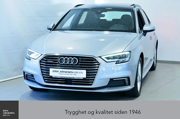 Audi A3 E-TRON PLUG-IN HYBRID *KAMPANJE*  2017, 27100 km, kr 239900,-