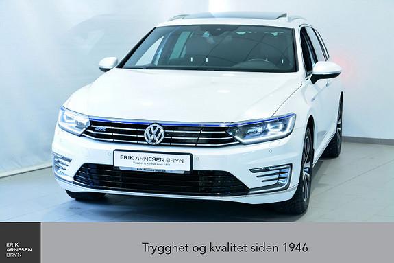 Volkswagen Passat GTE PLUG-IN HYBRID *KAMPANJE*  2017, 39990 km, kr 289900,-