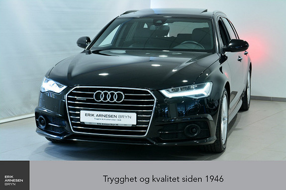 Audi A6 Avant 2,0 TDI 190hk quattro S tronic *KAMPANJE*  2017, 42300 km, kr 449900,-