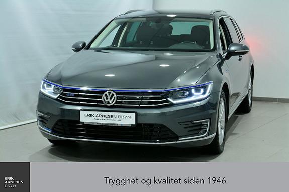 Volkswagen Passat GTE PLUG-IN HYBRID *KAMPANJE*  2017, 44990 km, kr 269900,-