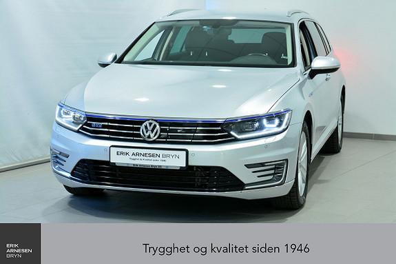 Volkswagen Passat GTE PLUG-IN HYBRID *KAMPANJE*  2017, 62400 km, kr 279900,-