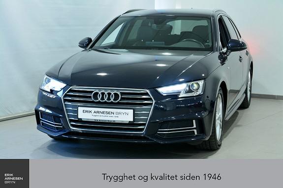 Audi A4 Avant Sport 1,4 TFSI 150hk S tronic *KAMPANJE*  2017, 85500 km, kr 259900,-
