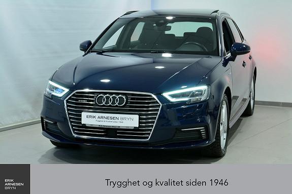 Audi A3 E-TRON PLUG-IN HYBRID *KAMPANJE*  2017, 39100 km, kr 224900,-