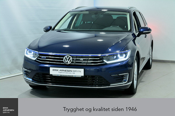 Volkswagen Passat GTE PLUG-IN HYBRID *KAMPANJE*  2017, 40900 km, kr 279900,-