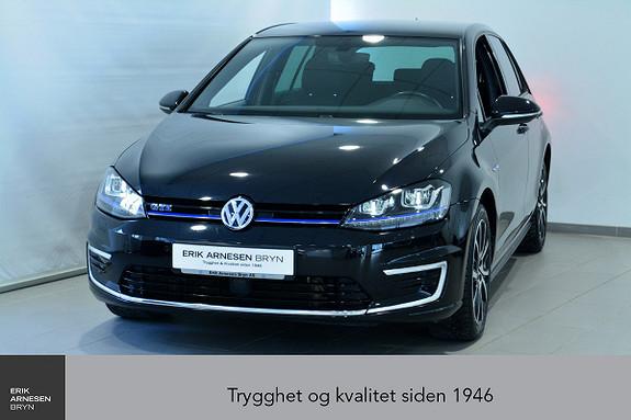 Volkswagen Golf GTE PLUG-IN HYBRID *KAMPANJE*  2017, 38487 km, kr 219900,-