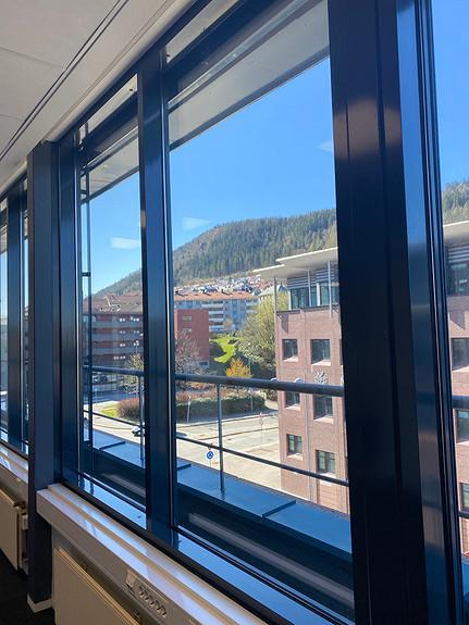 Utsikt fra lokalene