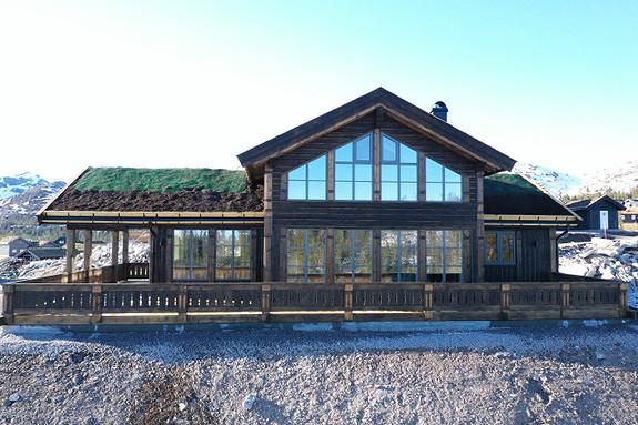 Ny Buen Storodde XL. Panorama tomt. 2 bad. Nøkkelferdig