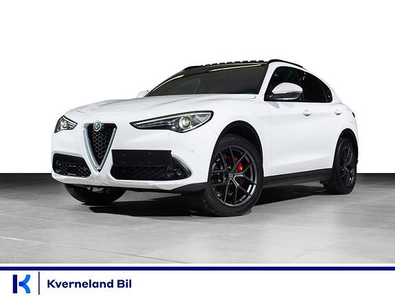 "Alfa Romeo Stelvio 2,2D 210hk Super Sport AWD aut Navi, 20"" vinterhjul, ++  2020, 4000 km, kr 749000,-"