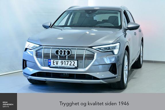 Audi e-tron 55 Advanced  2019, 6000 km, kr 769900,-
