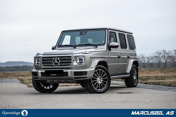 Mercedes-Benz Geländewagen 422HK V8 AMG 5 år garanti, Burmester meget godt utstyrt  2019, 17500 km, kr 1299000,-