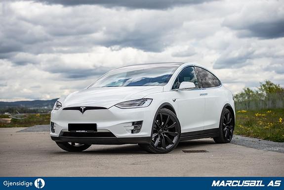 """Tesla Model X 100D 6S/AP/LUFT/HIFI/VINTER/HEPA/SKINN/22""""  2017, 31700 km, kr 749999,-"""