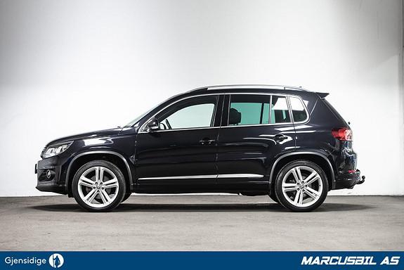 Volkswagen Tiguan 2.0TDI R-Line, Webasto, Panorama H. feste Skinn, DynAudio  2015, 168970 km, kr 249000,-