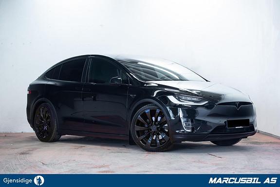 "Tesla Model X 100D 6S/AP2/VINTER/H.FESTE/22""  2017, 70000 km, kr 649999,-"