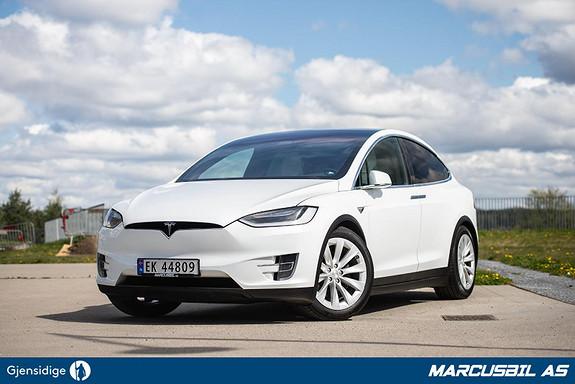 Tesla Model X 75D 5S/AP/LUFT/VINTER/S+ V  2017, 72200 km, kr 549999,-