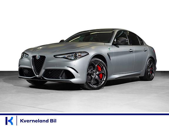 Alfa Romeo Giulia 2.9 V6 Bensin 510hk Automat Quadrifoglio N`Ring 22/108  2019, 10 km, kr 1635000,-