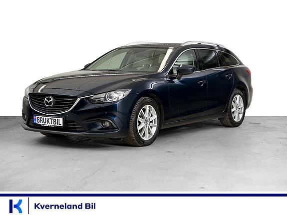 Mazda 6 2,2D 150hk Optimum aut Navi, Ryggekamera, Psensor, DAB++  2015, 112858 km, kr 198000,-
