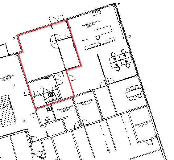 Areal 1. etasje i Beddingen