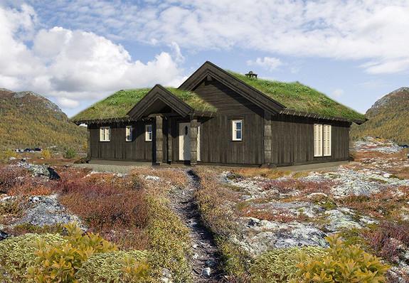 Gålåvannet – Stor og arealeffektiv prosjektert hytte – inklusive tomt/grunnarbeider/støp