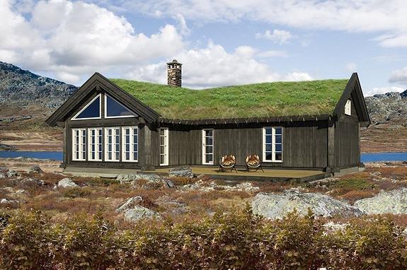 Synnfjell – Stor og arealeffektiv prosjektert hytte – valgfri ledig tomt tilkommer