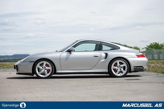 Porsche 911 996 Turbo X50 450Hk Manuell, Uten soltak, full historikk  2003, 81299 km, kr 649000,-