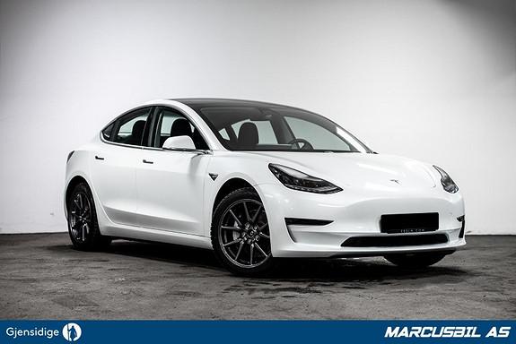 Tesla Model 3 LR AWD AP/HIFI/VINTER  2020, 7600 km, kr 499999,-