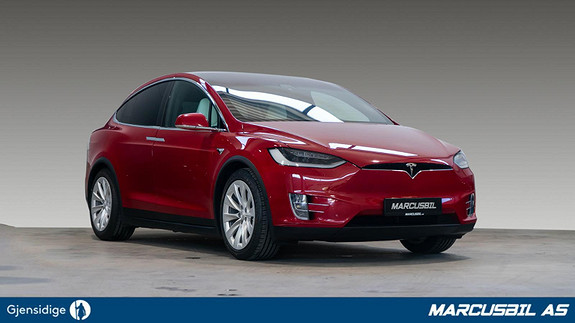Tesla Model X 75D 5S/AP2.5/HIFI/VINTER/KROK/S+ V  2017, 66000 km, kr 599999,-