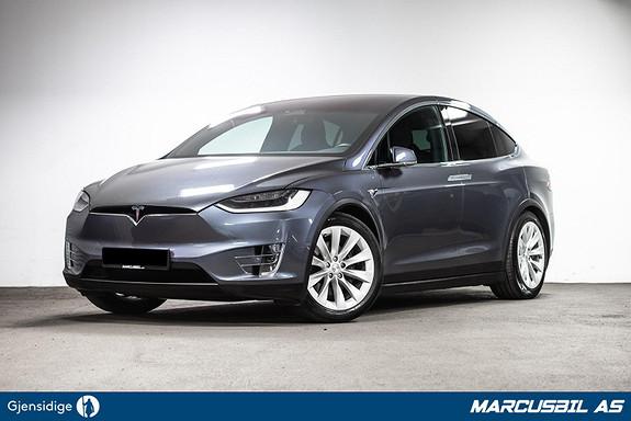 Tesla Model X 60D 5S/LUFT/SKINN/GRATIS LADING  2017, 88750 km, kr 519999,-