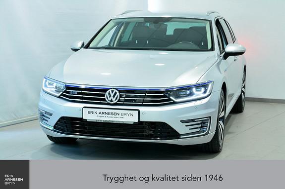 Volkswagen Passat GTE PLUG-IN HYBRID Webasto, Active info, Skinn + + +  2017, 47990 km, kr 299900,-