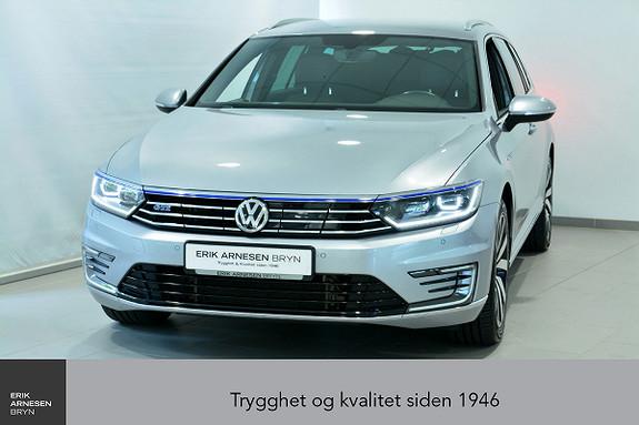 Volkswagen Passat GTE PLUG-IN HYBRID Webasto, Krok, Skinn, Kamera, Dynaud  2018, 31700 km, kr 359900,-