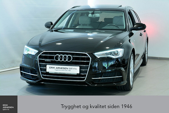 Audi A6 Avant 2,0 TDI 190hk quattro S tronic S line, Webasto+ +  2017, 59600 km, kr 449900,-