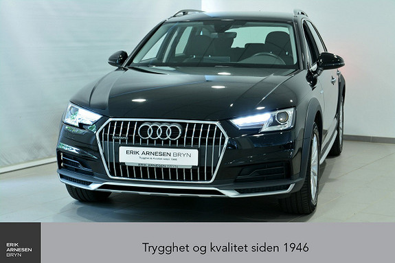 Audi A4 allroad 2.0 TDI 190hk quattro aut Viritual C, Krok, Cruise, Nav  2018, 39800 km, kr 459900,-