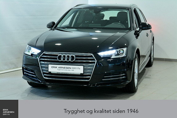 Audi A4 Avant Sport 1,4 TFSI 150hk S tronic Virtual C, Skinn  2017, 34100 km, kr 319900,-