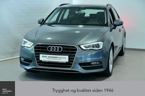 Audi A3 Sportback 1,2 TFSI 110hk Ambition S tronic  2016, 52450 km, kr 189900,-