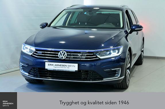Volkswagen Passat GTE PLUG-IN HYBRID Active info, Easy open, Navi + + +  2017, 41200 km, kr 289900,-