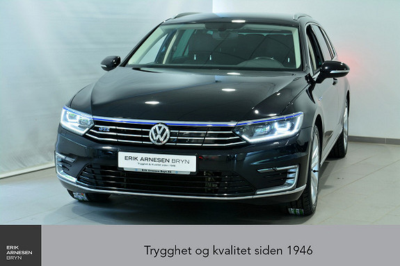 Volkswagen Passat GTE PLUG-IN HYBRID Active info, Webasto, Krok + + +  2017, 72200 km, kr 279900,-