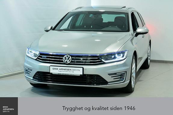Volkswagen Passat GTE PLUG-IN HYBRID Webasto, Krok, Skinn, Kamera + +  2017, 63600 km, kr 279900,-