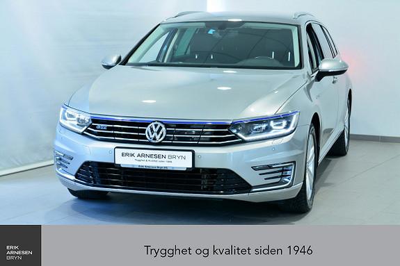 Volkswagen Passat GTE PLUG-IN HYBRID Active info, Webasto, Krok, Navi + +  2017, 47400 km, kr 289900,-
