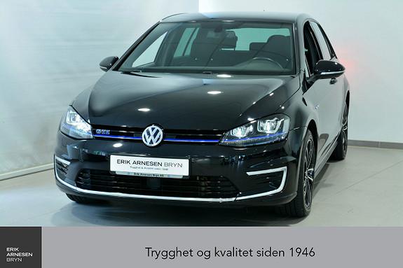 Volkswagen Golf GTE 1,4 TSI 204hk DSG PLUG-IN HYBRID Navi, Keyless, Kam  2016, 60200 km, kr 189900,-