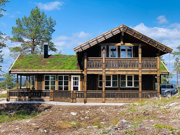 Nye flotte tomter Sørevegglifjell. Prosjektert Tiur Spesial med to bad+++.