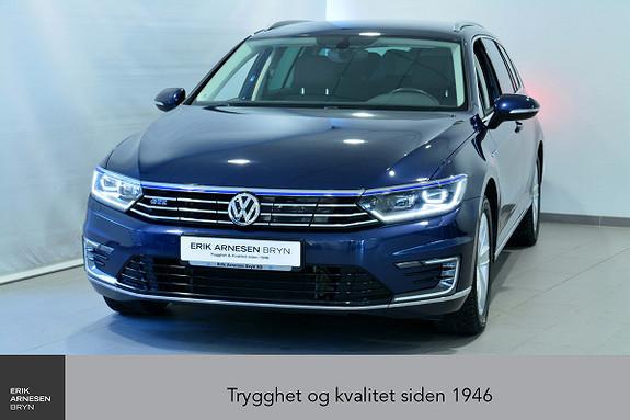 Volkswagen Passat GTE PLUG-IN HYBRID Active info, Krok , Navi + +  2017, 44600 km, kr 279900,-