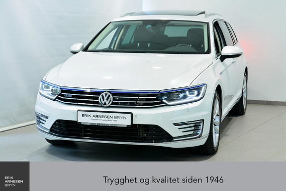 Volkswagen Passat GTE PLUG-IN HYBRID Webasto, Active info, Easy open + +  2018, 41500 km, kr 339900,-