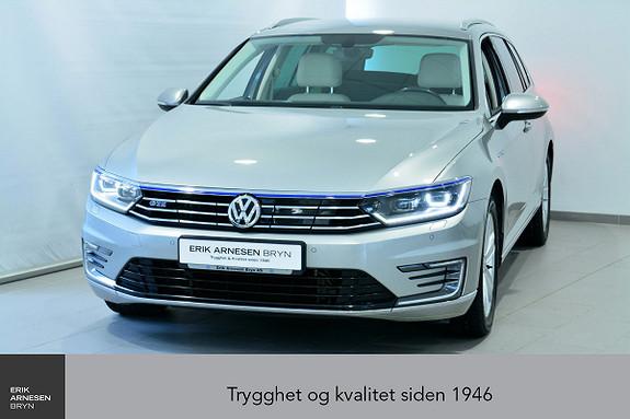 Volkswagen Passat GTE PLUG-IN HYBRID Navi, Ryggekamera, ++  2017, 51800 km, kr 249900,-