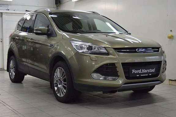 Ford Kuga 2.0 TDCI TITANIUM, automat, tilhengerfeste 2100 kg, 4x4  2014, 182500 km, kr 199000,-