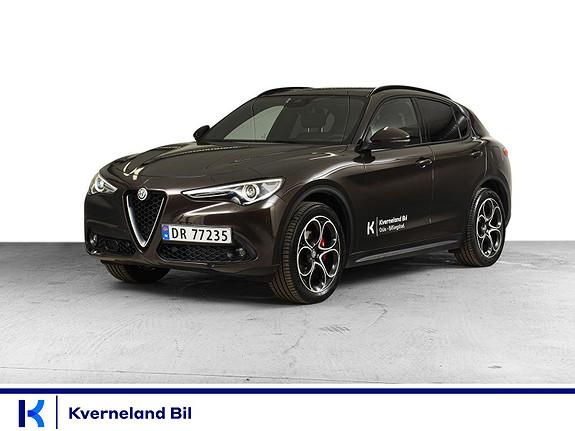 Alfa Romeo Stelvio 2,2D 210hk Super Sport AWD aut Hengerfeste, Panorama  2020, 18000 km, kr 669000,-