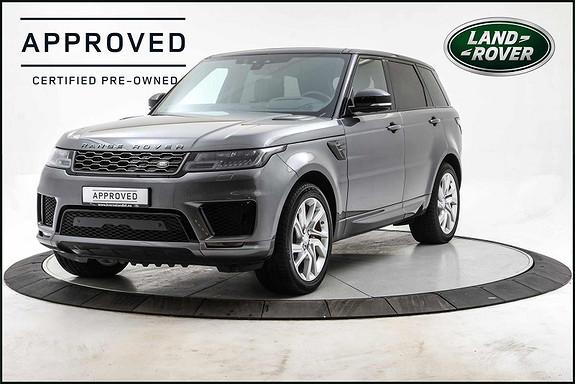 Land Rover Range Rover Sport PHEV 404 hk HSE Dynamic Panorama, Head Up, Ebony Skinn,  2019, 18300 km, kr 1125000,-